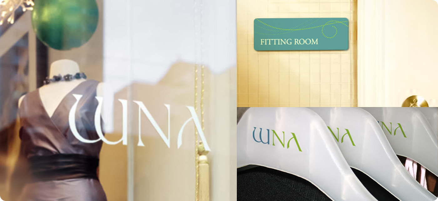 WNA Boutique Visual Identity System (VIS)