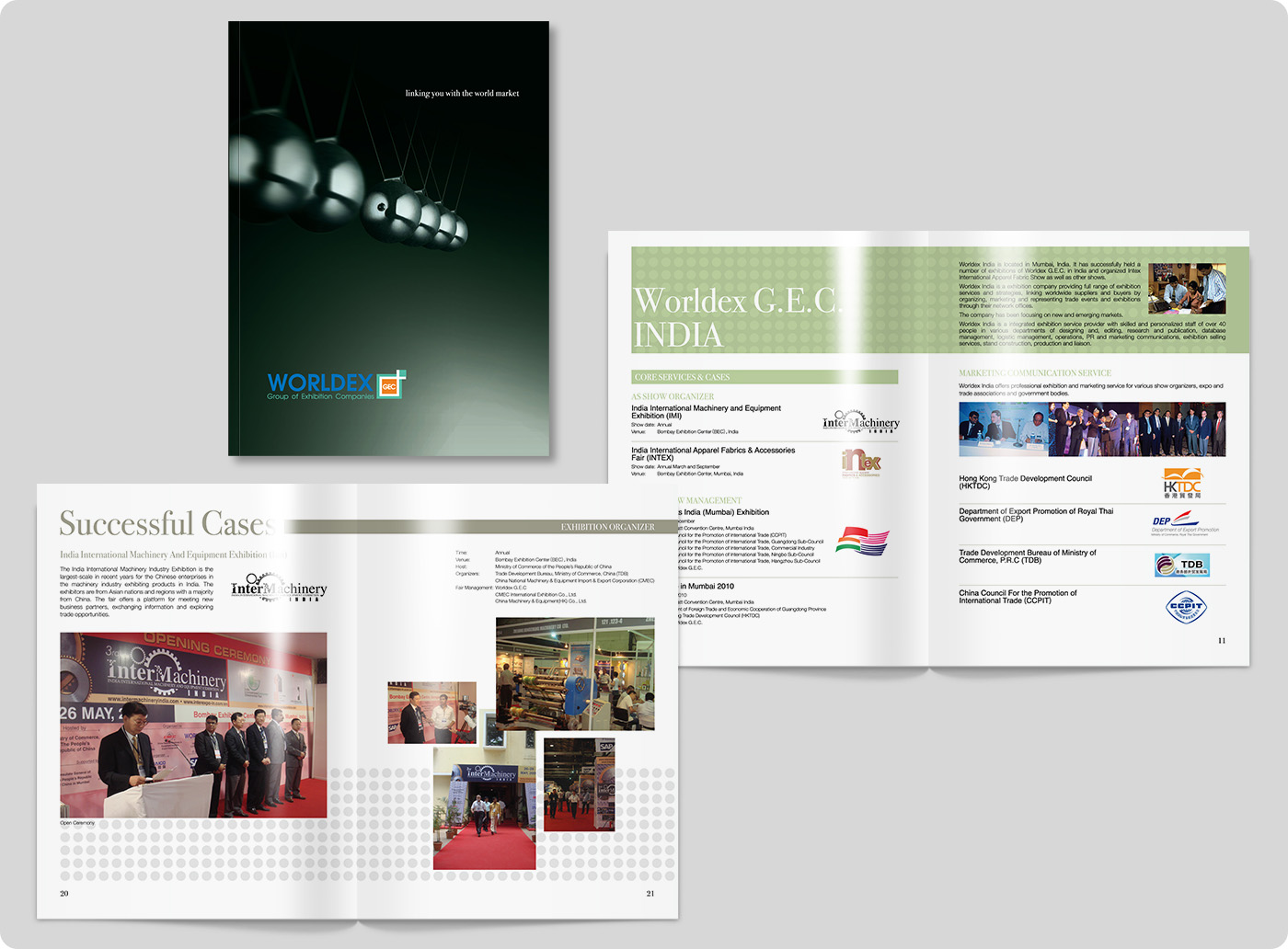 Worldex GEC Corporate Brochure Design