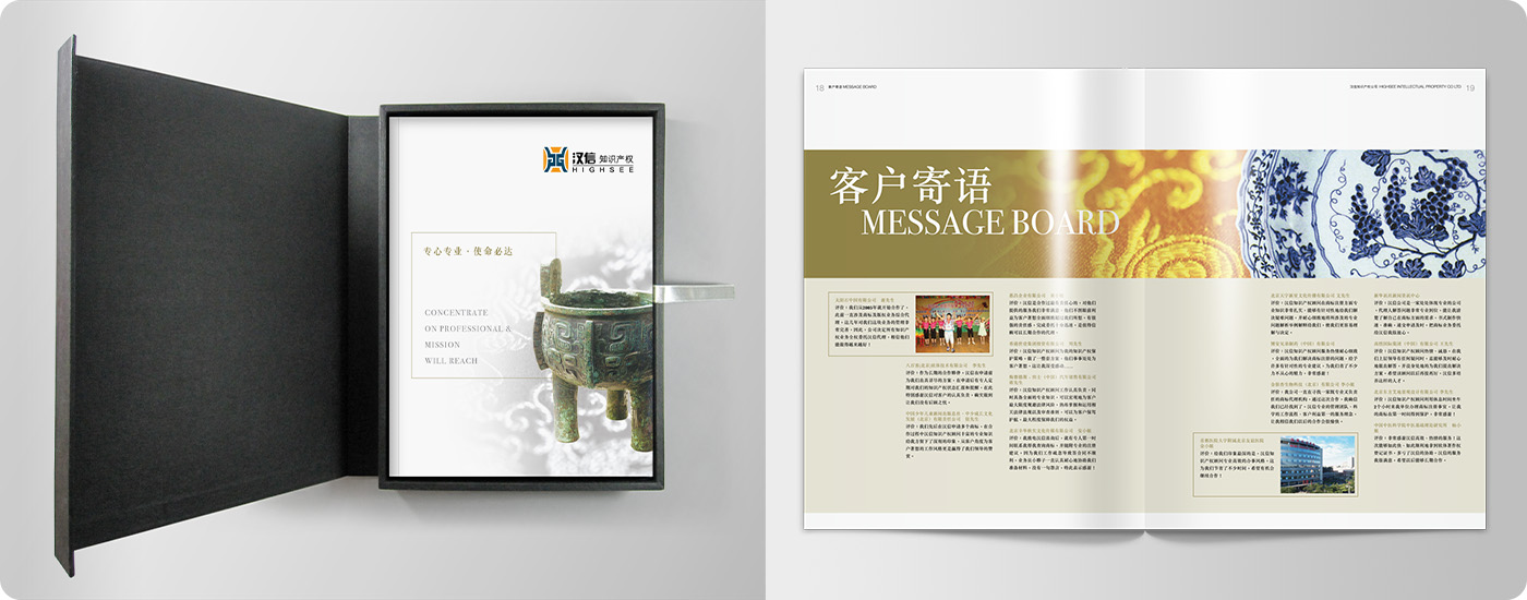 Highsee Intellectual Property Company Brochure Design