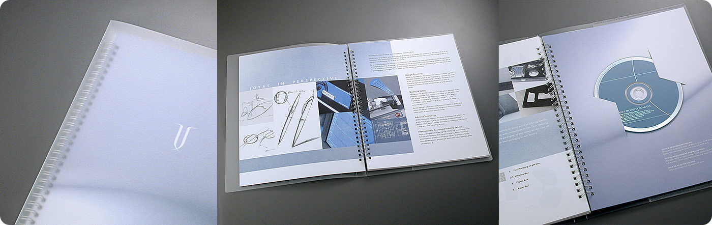 JOYAZ Product Catalogue design