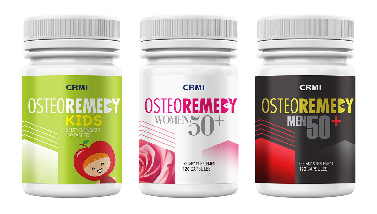 CRMI Osteoremedy Packing Design